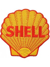 SHELL OIL & GAS RACING SPORT EMBROIDERED PATCH #18