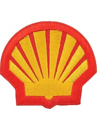 SHELL OIL & GAS RACING SPORT EMBROIDERED PATCH #19
