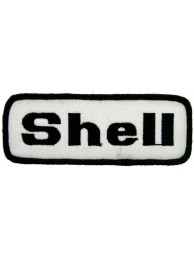 SHELL OIL & GAS RACING SPORT EMBROIDERED PATCH #20