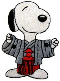 SNOOPY CARTOON COMIC EMBROIDERED PATCH