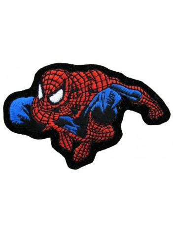 SPIDERMAN CARTOON COMIC IRON ON EMBROIDERED PATCH #03