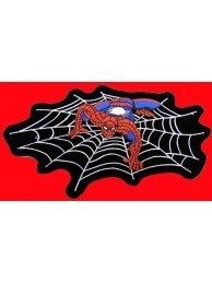 GIANT SPIDERMAN ON WEB EMBROIDERED PATCH #K2