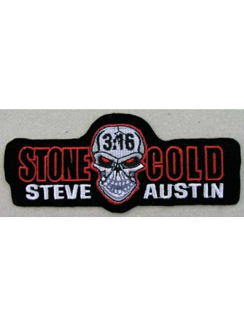 Stone Cold Wrestling Embroidered Patch #01