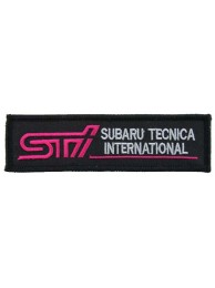 SUBARU STI TECNICA INTERNATIONAL RACING PATCH #04