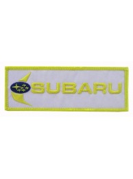 SUBARU RACING SPORT IRON ON EMBROIDERED PATCH #06