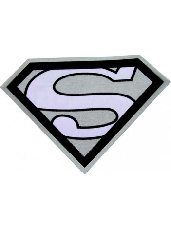 GIANT SUPERMAN CREST EMBROIDERED PATCH #P1
