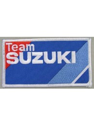 SUZUKI MOTORCYCLE BIKER EMBROIDERED PATCH #02