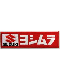 SUZUKI MOTORCYCLE BIKER EMBROIDERED PATCH #04