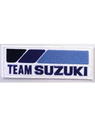 SUZUKI MOTORCYCLE BIKER EMBROIDERED PATCH #06A