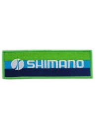 SHIMANO FISHING & CYCLING EMBROIDERED PATCH #02