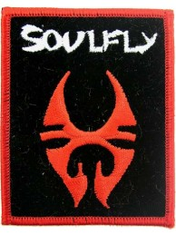 SOULFLY PUNK & ROCK EMBROIDERED PATCH
