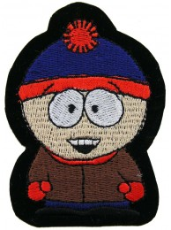 SOUTH PARK CARTOON COMIC EMBROIDERED PATCH #01