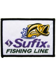 SUFIX FISHING LINE EMBROIDERED PATCH #01