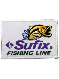 SUFIX FISHING LINE EMBROIDERED PATCH #02