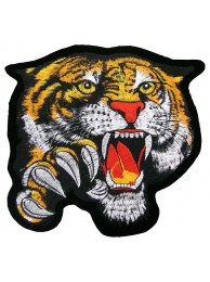 GIANT TIGER EMBROIDERED PATCH (EXXL04)