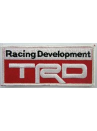 TOYOTA TRD AUTO IRON ON EMBROIDERED PATCH