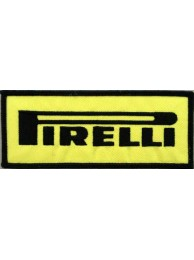 PIRELLI TIRE EMBROIDERED PATCH