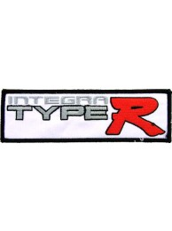 HONDA INTEGRA TYPE R RACING EMBROIDERED PATCH #23