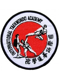 TAEKWONDO MARTIAL ARTS EMBOIDERED PATCH #01