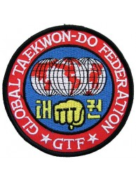 TAEKWONDO MARTIAL ARTS EMBOIDERED PATCH #02