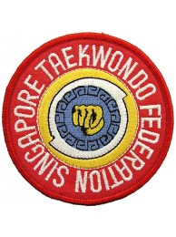 TAEKWONDO MARTIAL ARTS EMBOIDERED PATCH #12