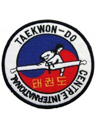 TAEKWONDO MARTIAL ARTS EMBOIDERED PATCH #03