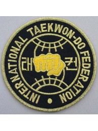 TAEKWONDO MARTIAL ARTS EMBOIDERED PATCH #04