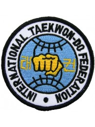 TAEKWONDO MARTIAL ARTS EMBOIDERED PATCH #06