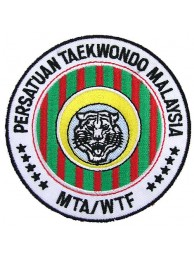 TAEKWONDO MARTIAL ARTS EMBOIDERED PATCH #11