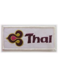 THAI AIRLINE IRON ON EMBROIDERED PATCH