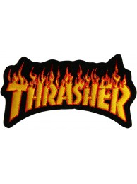THRASHER SKATEBOARD EMBROIDERED PATCH #02
