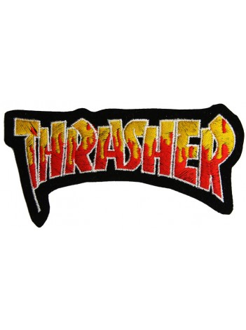 THRASHER SKATEBOARD EMBROIDERED PATCH #03