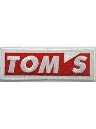 TOYOTA TOM's RACING EMBROIDERED PATCH #01