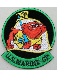 USMC 3rd US MARINE CORP EMBROIDERED PATCH #5b