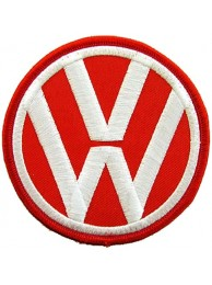 VOLKSWAGEN AUTO IRON ON EMBROIDERED PATCH #01