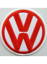 VOLKSWAGEN AUTO IRON ON EMBROIDERED PATCH #02