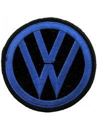 VOLKSWAGEN AUTO IRON ON EMBROIDERED PATCH #03