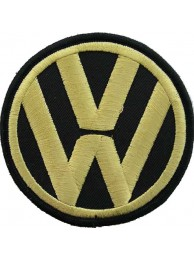 VOLKSWAGEN AUTO IRON ON EMBROIDERED PATCH #05
