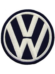 VOLKSWAGEN AUTO IRON ON EMBROIDERED PATCH #07