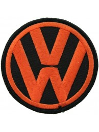 VOLKSWAGEN AUTO IRON ON EMBROIDERED PATCH #08