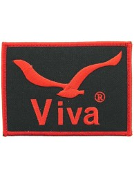 VIVA FISHING EMBROIDERED PATCH #01