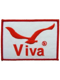 VIVA FISHING EMBROIDERED PATCH #02