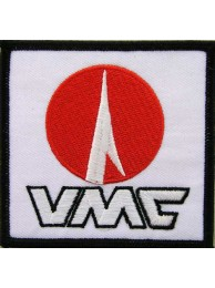 VMC FISHING HOOKS IRON ON EMBROIDERED PATCH