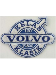 VOLVO AUTO IRON ON EMBROIDERED PATCH #01