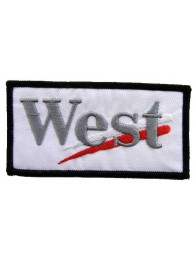WEST RACING SPORT EMBROIDERED PATCH #04