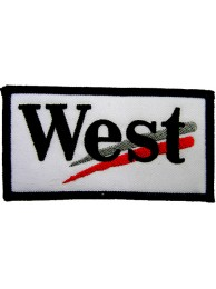 WEST RACING SPORT EMBROIDERED PATCH #05