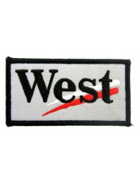 WEST RACING SPORT EMBROIDERED PATCH #06