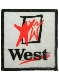 WEST MCLAREN MERCEDES RACING EMBROIDERED PATCH #09