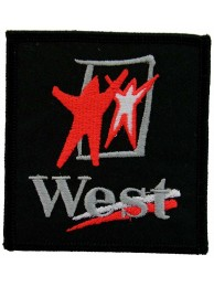 WEST MCLAREN MERCEDES RACING EMBROIDERED PATCH #13