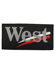 GIANT WEST F1 RACING EMBROIDERED PATCH (P)
